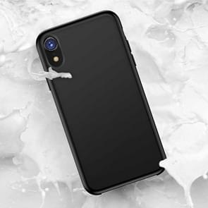 TOTUDESIGN Liquid Silicone Dropproof Protective Case for iPhone XR(Black)