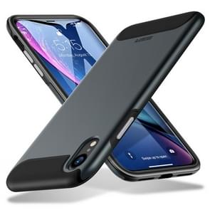 ESR Rambler Series TPU + PC Tough Shockproof Case for iPhone XR (Black)