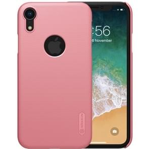 NILLKIN Frosted Concave-convex Texture PC Case for iPhone XR (Rose Gold)