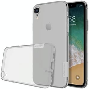 NILLKIN Nature TPU Transparent Soft Case for  iPhone XR  6.1 inch(Grey)