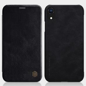NILLKIN Crazy Horse Texture Horizontal Flip Leather Case for  iPhone XR, with Card Slot(Black)