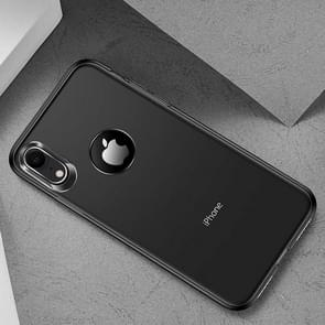 TOTUDESIGN Frosted TPU Case for  iPhone XR(Black)