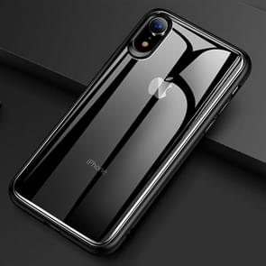 TOTUDESIGN Ultra-thin TPU + PC + Mirror Case for  iPhone XR (Black)
