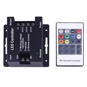 SX-035RF Three Channels LED Iron Casing Remote Controller with RF Remote Control, DC 12-24V