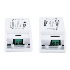 Sonoff 433MHz DIY WiFi Smart Wireless Remote Control Timer Module Power Switch met 4-keys Remote Control voor Smart Home, Support iOS en Android