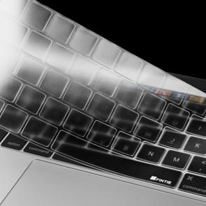 ENKAY TPU Keyboard Protector Cover for MacBook Pro 13.3 Inch (2016) with Touch Bar & Pro 15.4 Inch (2016) with Touch Bar (A1706 / A1707) , Europe Version