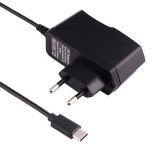 5V 2A USB-C / Type-C Port Charger for Macbook, Google, LG, Huawei, Nokia, Microsoft, Xiaomi, OnePlus, Letv, Meizu, other Smartphones or Tablets, EU Plug