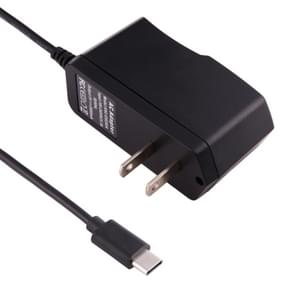 5V 2A USB-C / Type-C Port Charger for Macbook, Google, LG, Huawei, Nokia, Microsoft, Xiaomi, OnePlus, Letv, Meizu, other smartphones or Tablets, US Plug