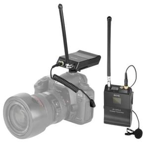 BOYA  BY-WFM12 VHF Wireless Microphone System with Transmitter and Receiver for DSLR Cameras and Video Cameras (Black)