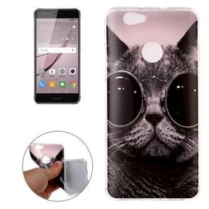 Huawei nova IMD Cool Cat Soft TPU Back Cover Case