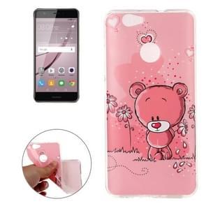 Huawei nova IMD Bear Pattern Soft TPU Back Cover Case