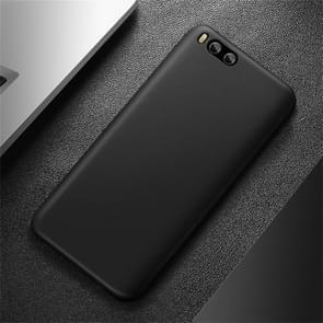 CAFELE Chiffon Series Xiaomi Mi 6 PP Ultra-slim Matte Protective Back Cover Case(Black)
