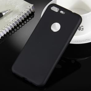 For Google Pixel Soft TPU Protective Back Cover Case (Black)