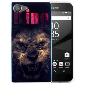 For Sony Xperia Z5 Compact IMD The Lion King Pattern Blu-ray Soft TPU Protective Case