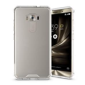 For Asus ZenFone 3 ZE552KL Acrylic + TPU Transparent Armor Protective Case (Transparent)