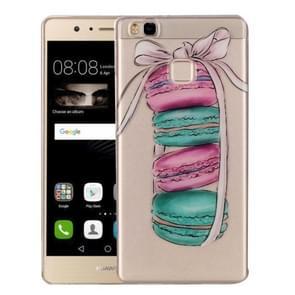 Huawei P9 Lite Macarons Pattern IMD Workmanship Soft TPU Protective Case