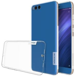 NILLKIN Xiaomi Mi Note 3 TPU Ultra-thin Clear Color Soft Protective Back Cover Case(White)