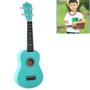 HM100 21 inch Basswood Ukulele Children Musical Enlightenment Instrument (Mint Green)