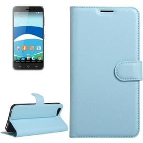 For Orange Dive 71 Litchi Texture Horizontal Flip Leather Case with Holder & Card Slots & Wallet(Blue)