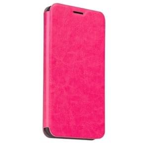 MOFI Letv Le 2 Pro Crazy Horse Texture Horizontal Flip Leather Case with Holder(Magenta)