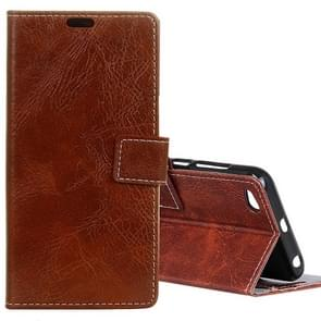 Xiaomi Redmi 5A Retro Crazy Horse Texture Horizontal Flip Leather Case with Card Slots & Holder & Wallet & Photo Frame (Brown)