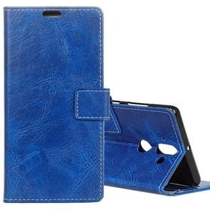 For Nokia 9 Retro Crazy Horse Texture Horizontal Flip Leather Case with Card Slots & Holder & Wallet & Photo Frame, Small Quantity Recommended before Nokia 9 Launching(Blue)