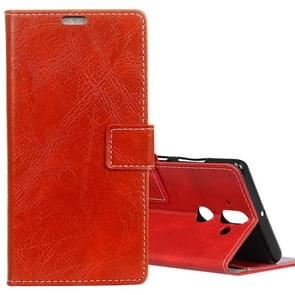 For Nokia 9 Retro Crazy Horse Texture Horizontal Flip Leather Case with Card Slots & Holder & Wallet & Photo Frame, Small Quantity Recommended before Nokia 9 Launching(Red)