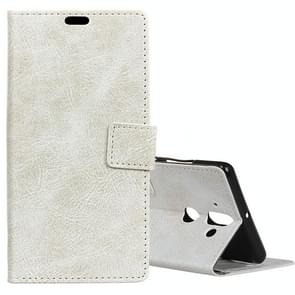 For Nokia 9 Retro Crazy Horse Texture Horizontal Flip Leather Case with Card Slots & Holder & Wallet & Photo Frame, Small Quantity Recommended before Nokia 9 Launching(White)
