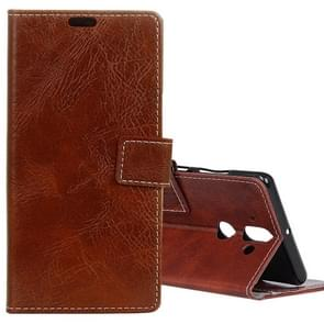 For Nokia 9 Retro Crazy Horse Texture Horizontal Flip Leather Case with Card Slots & Holder & Wallet & Photo Frame, Small Quantity Recommended before Nokia 9 Launching(Brown)