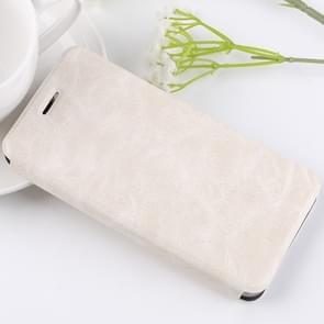 MOFI Xiaomi Mi Note 3 Crazy Horse Texture Horizontal Flip Leather Case with Holder & Card Slot(White)