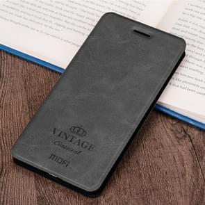 MOFI for  Xiaomi Redmi 5A Crazy Horse Texture Horizontal Flip Leather Case with Holder & Card Slot(Black)