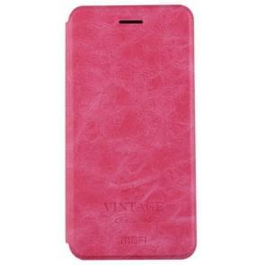 MOFI Xiaomi Redmi Note 5A Crazy Horse Texture Horizontal Flip Leather Case with Holder & Card Slot(Magenta)
