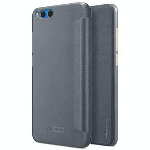 NILLKIN SPARKLE Series Xiaomi Note 3 Frosted Texture Horizontal Flip Leather Case (Black)