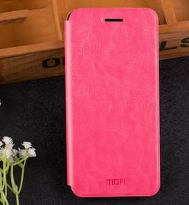 MOFI WISE Xiaomi Redmi Note 5A Pro / Prime Crazy Horse Texture Horizontal Flip Protective Leather Case with Holder(Magenta)