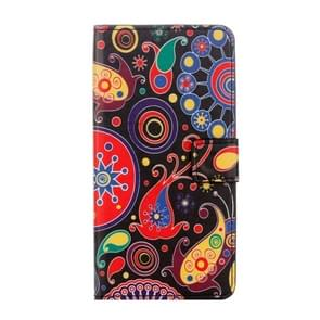 For Motorola Moto G Plus (5th Gen.) Acaleph Pattern Horizontal Flip Leather Case with Holder & Card Slots & Wallet