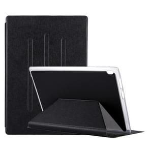 For Lenovo TAB4 TB-X304F 10.1 inch Silk Texture Horizontal Flip Leather Case with Holder (Black)