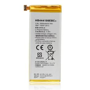 2500mAh Li-Polymer Battery HB444199EBC for Huawei Honor 4C / C8818 / CHM-UL00 / CHM-TL00H / CHM-CL00