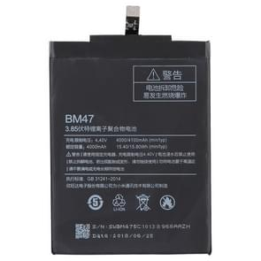 4000mAh Li-Polymer Battery BM47 for Xiaomi Redmi 3