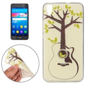 Huawei Y6 Tree and Bird Pattern TPU Protective Case