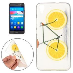 Huawei Y6 Lemon Pattern TPU Protective Case