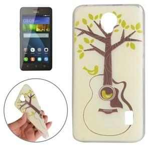 Huawei Y635 Tree and Bird Pattern TPU Protective Case