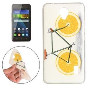 Huawei Y635 Lemon Pattern TPU Protective Case