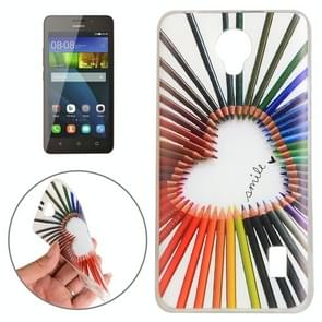 Huawei Y635 Color Pencil Pattern TPU Protective Case