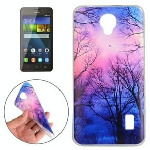 Huawei Y635 Trees and Clouds Pattern TPU Protective Case
