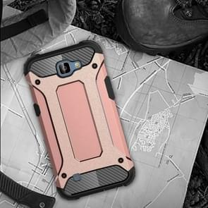 For LG K4 Tough Armor TPU + PC Combination Case(Rose Gold)