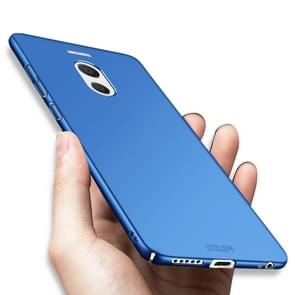 MOFI For Meizu M6 Note PC Ultra-thin Edge Fully Wrapped Up Protective Case Back Cover (Blue)
