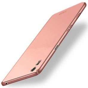 MOFI for Sony Xperia XZ & XZs  PC Ultra-thin Full Coverage Protective Back Cover Case(Rose Gold)