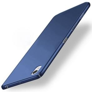 MOFI For For Sony Xperia X Frosted PC Ultra-thin Edge Fully Wrapped Up Protective Case Back Cover(Blue)