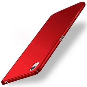 MOFI For For Sony Xperia X Frosted PC Ultra-thin Edge Fully Wrapped Up Protective Case Back Cover(Red)