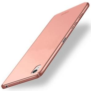 MOFI For For Sony Xperia X Frosted PC Ultra-thin Edge Fully Wrapped Up Protective Case Back Cover(Rose Gold)